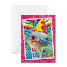 WonderWorld Ostrich Greeting Card