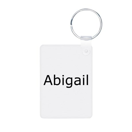 Abigail Aluminum Photo Keychain