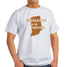 Indianans Do It Better T-Shirt