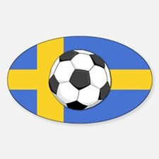 Sweden World Cup 2006 Oval Decal