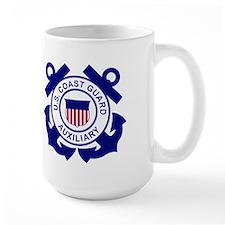 USCG Auxiliary ADSO<BR> 15 Ounce Mug