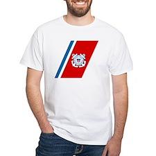 2-USCG-Racing-Stripe T-Shirt
