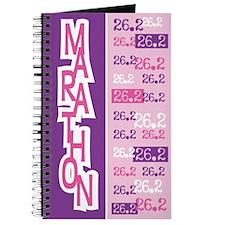 26.2 Marathon PINK PURPLE Journal