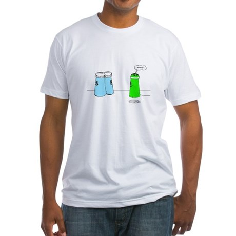 alien Fitted T-Shirt