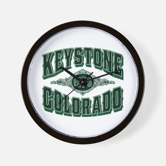 Keystone 1973 Money Shot Wall Clock
