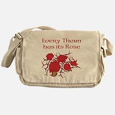 Every Thorn - Rose Messenger Bag