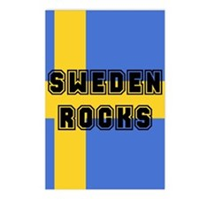 Sweden Rocks Postcards (Package of 8)