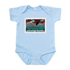 save japans dolphins, kindred Infant Bodysuit