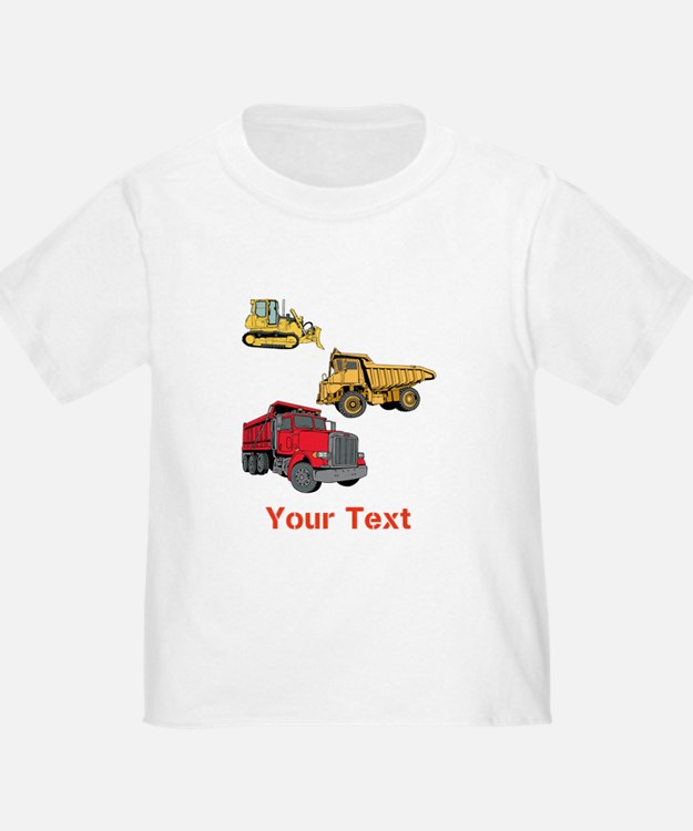 Works Site Vehicles and Text T