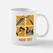 Carpenters Tools and Text. Mug