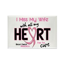 Miss My Wife With All My Heart Breast Cancer Recta