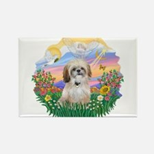 Guardian-Shih Tzu #17 Rectangle Magnet