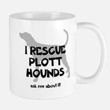 I RESCUE Plott Hounds Mug