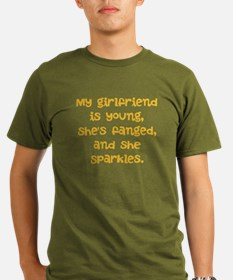 young, fanged, and sparkles T-Shirt
