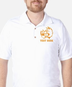 Boar and Custom Text. T-Shirt