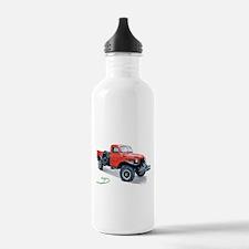 Antique Power Wagon Water Bottle