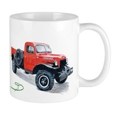 Antique Power Wagon Mug