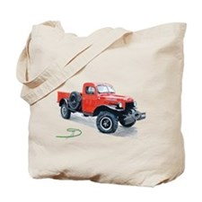 Antique Power Wagon Tote Bag