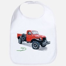 Antique Power Wagon Bib