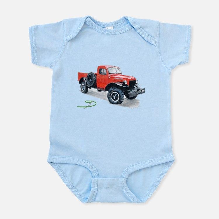 Antique Power Wagon Infant Bodysuit