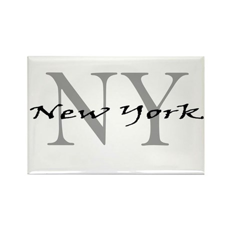 New York thru NY Rectangle Magnet (10 pack)