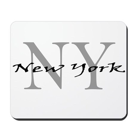 New York thru NY Mousepad