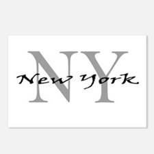 New York thru NY Postcards (Package of 8)