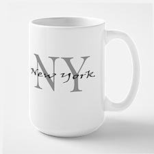 New York thru NY Large Mug
