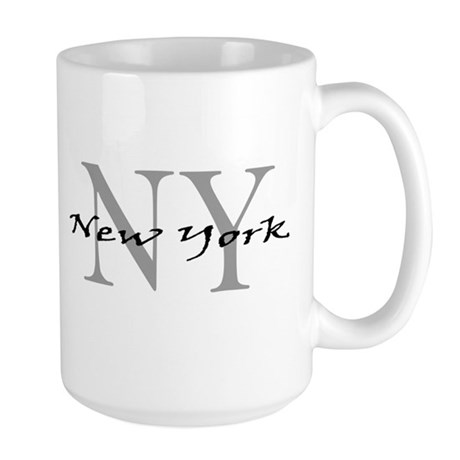 New York thru NY Large Mug
