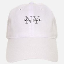New York thru NY Baseball Baseball Cap