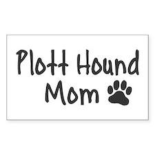 Plott Hound MOM Decal