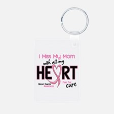 Miss My Mom With All My Heart Breast Cancer Alumin
