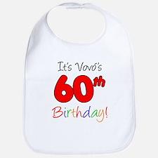 Vovo's 60th Birthday Bib