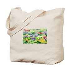 Italian Fields of Flowers/Tuscan Poppies Tote Bag