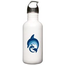 Dolphins Water Bottle