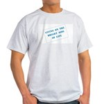 The Bright Side of Life Ash Grey T-Shirt