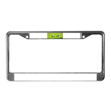 Appy Mares License Plate Frame