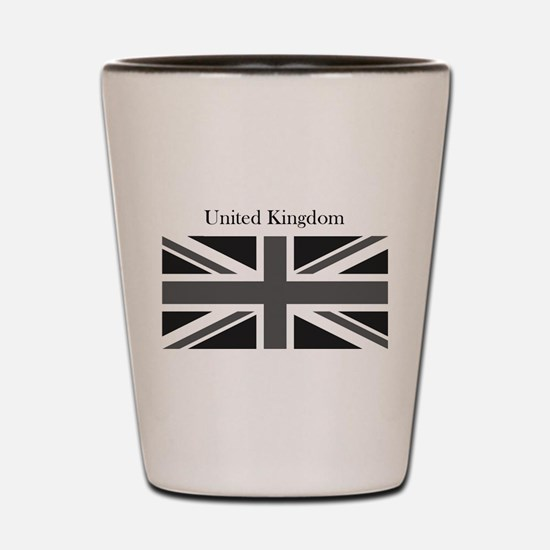 Cute United kingdom london Shot Glass