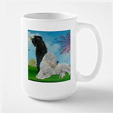 Labradoodle Spring Large Mug