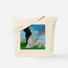 Labradoodle Spring Tote Bag