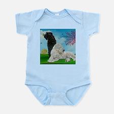 Labradoodle Spring Infant Bodysuit