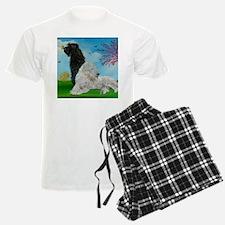Labradoodle Spring Pajamas