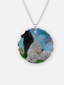 Labradoodle Spring Necklace