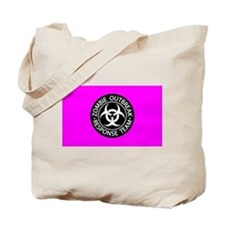 Hot Pink Zombies Tote Bag