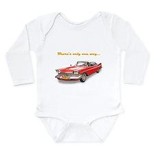WonderWorld One Way Long Sleeve Infant Bodysuit