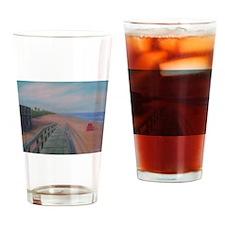 THE BEACH AT FLAGLER BEACH Drinking Glass