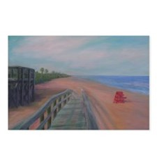 THE BEACH AT FLAGLER BEACH Postcards (Package of 8