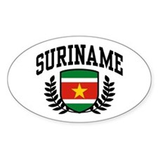 Suriname Decal