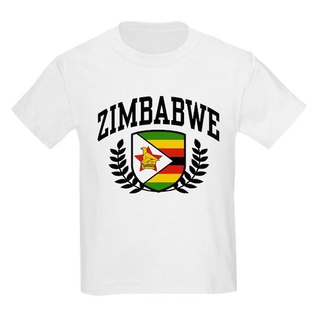 Zimbabwe Kids Light T-Shirt Zimbabwe T-Shirt