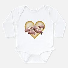 WonderWorld Airborne Long Sleeve Infant Bodysuit